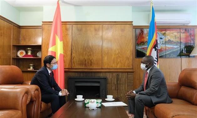 Embajada Vietnamita en Sudáfrica apoya la lucha contra el covid-19
