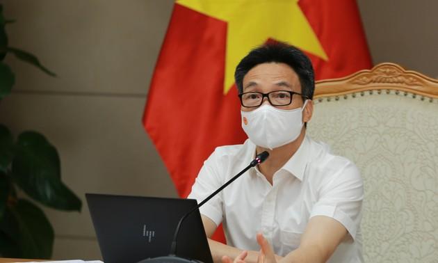 Solicitan la finalización del expediente para la licencia de la primera vacuna anticovid-19 vietnamita