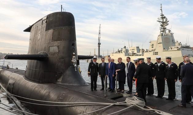 OTAN: disputa entre Francia, Estados Unidos y Australia no causa impacto negativo