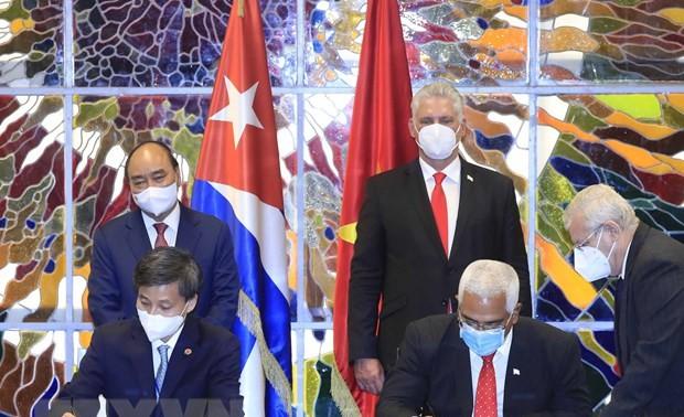 Presidente Miguel Díaz-Canel: Cuba no está sola gracias a la solidaridad de Vietnam