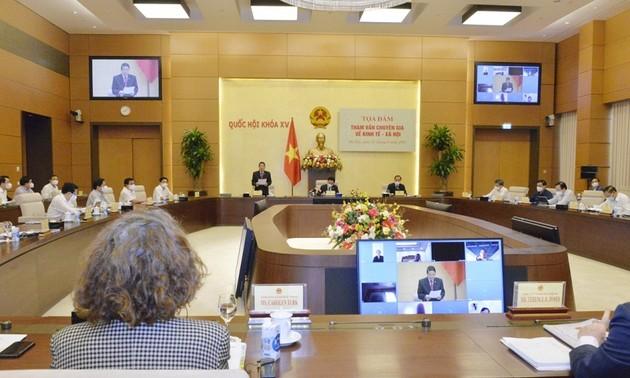 Realizan seminario virtual para consultar a expertos en temas socioeconómicos