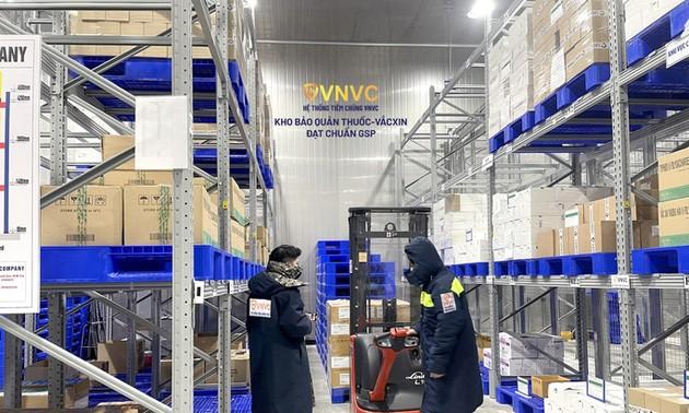 VNVC entrega 1,3 millones de dosis de vacuna anticoronavirus al Ministerio de Salud
