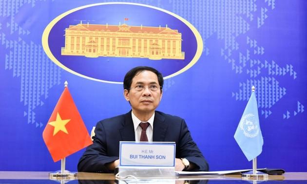 越南与非洲各民族并肩推动和平与可持续发展
