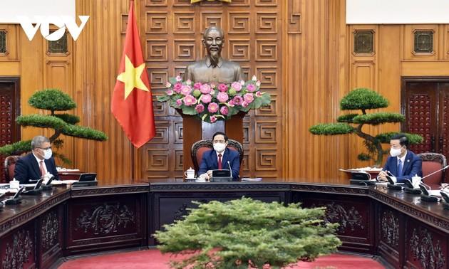 范明政会见第26届联合国气候变化大会主席夏尔马