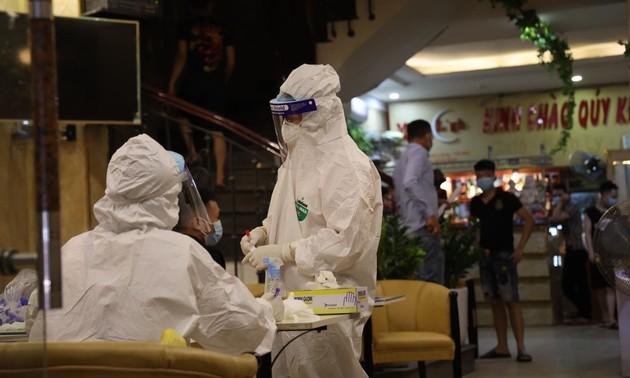 6月24日上午越南新增42例新冠肺炎确诊病例