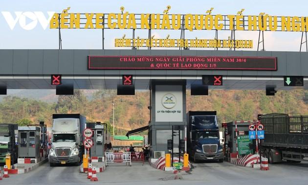 谅山省试点建设数字口岸为完善全国进出口全图做出贡献
