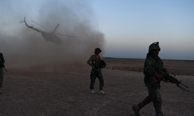 Dix membres des forces de sécurité tués dans un raid aérien afghan