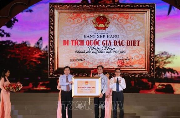 Vu Duc Dam à l'ouverture de la Fête nationale de la Culture, des Sports et du Tourisme des Cham