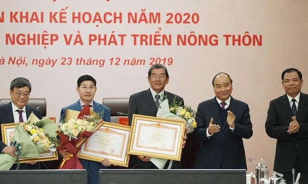Nguyên Xuân Phuc: l'agriculture doit devenir un secteur phare des exportations