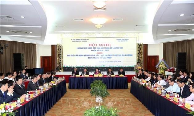 Nguyên Thi Kim Ngân à la conférence des conseils populaires des provinces du Nord