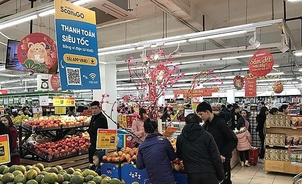 Têt : les supermarchés ouvrent dès le deuxième jour du premier mois lunaire