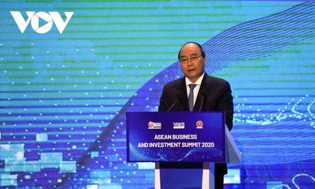 Sommet des affaires et de l'investissement de l'ASEAN 2020