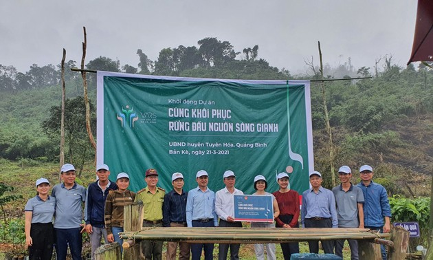 Restauration des forêts en amont du fleuve Gianh