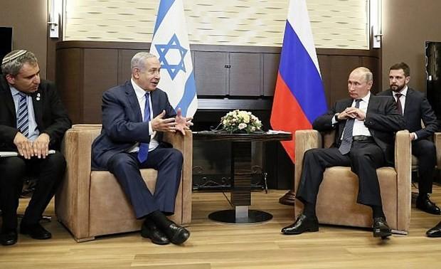 Poutine et Netanyahou discutent des liens bilatéraux
