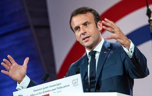 Emmanuel Macron à Strasbourg pour lancer la Conférence sur l'avenir de l'Europe