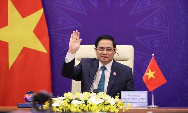 Le Premier ministre participe au Sommet virtuel P4G