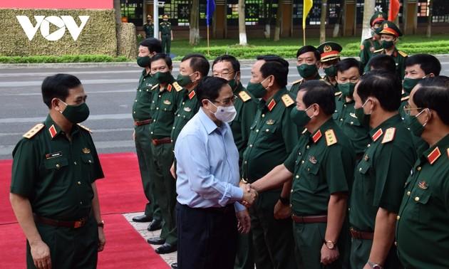 Conférence-bilan du premier semestre de l'Armée populaire du Vietnam