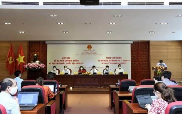 La première session de la quinzième législature s'ouvrira mardi 20 juillet