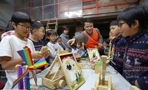 Creative Gara, un atelier de création pour enfants