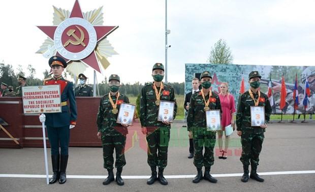 Jeux militaires internationaux 2021: le Vietnam obtient une médaille de bronze supplémentaire