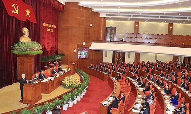 12th Party Central Committee convenes 8th session