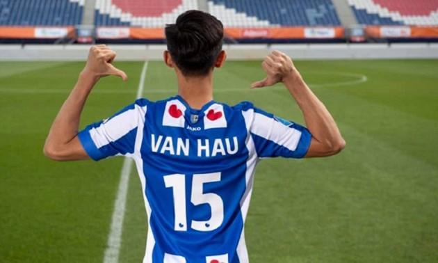 Dutch top division club SC Heerenveen unveils Vietnamese star Van Hau