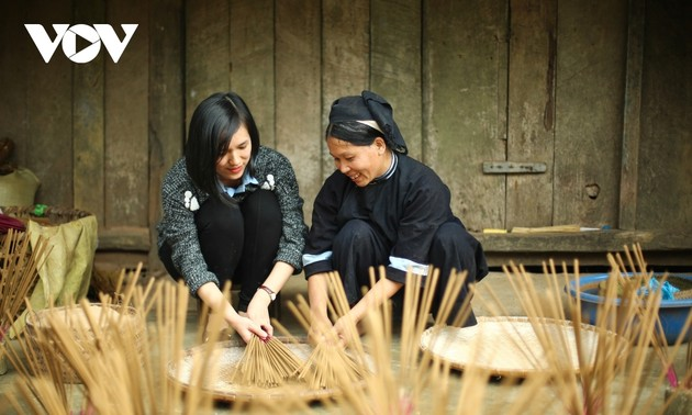 Incense-making craft of the Nung ethnic minority in Cao Bang