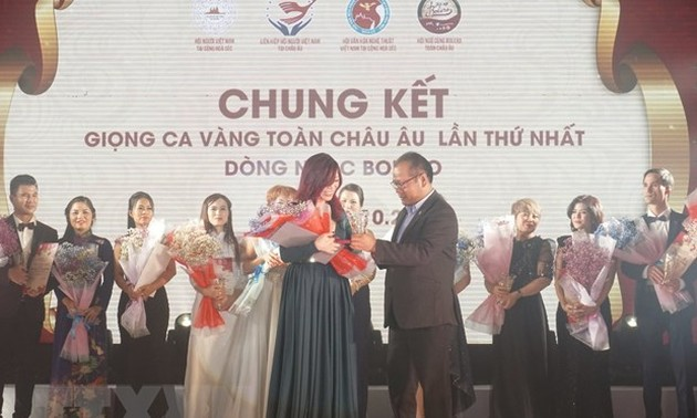 Singing contest fosters connectivity of Vietnamese community in Europe