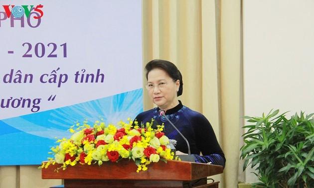 2ème conférence des conseils populaires des provinces et villes du Sud-Est