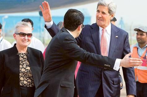 US State Secretary visits India