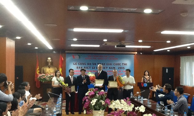 "Award ceremony ""What do you know about Vietnam 2015?"""