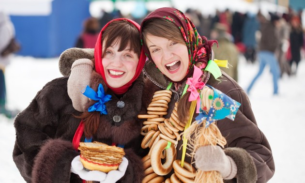 The Maslenitsa Festival in Russia