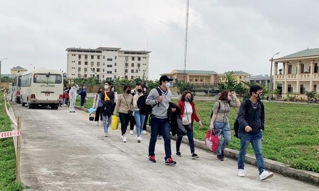 Vietnam strictly quarantines citizens returning from South Korea