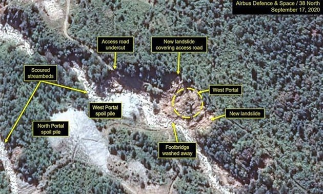 North Korea shows signs of operating steam plant at plutonium reprocessing facility