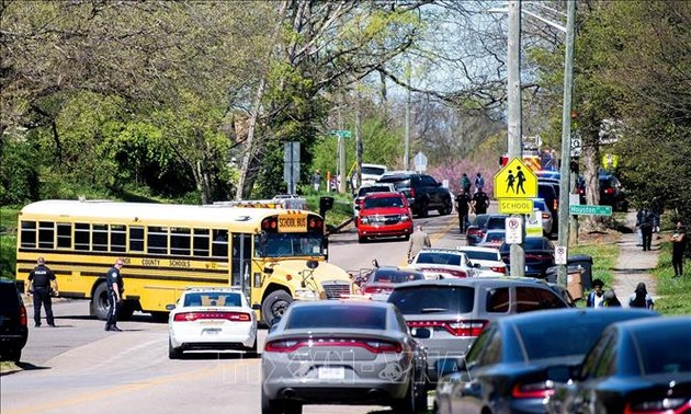 Student at US high school identified as shooting suspect, killed by police