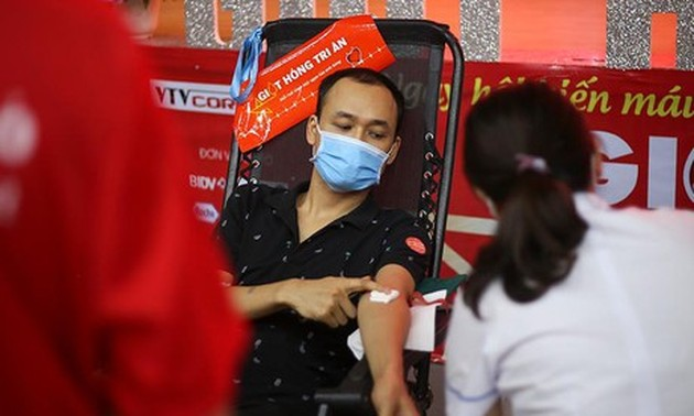 Blood donation program continues amid pandemic