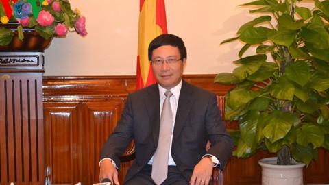 Vize-Premierminister Pham Binh Minh: Territorialschutz ist das Ziel der auswärtigen Aktivitäten