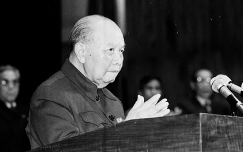 KPV-Generalsekretär Truong Chinh, der den Grundstein für die Erneuerung legte