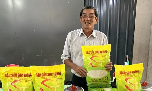 Wissenschaftler Ho Quang Cua - Der Vater der Reissorte ST25