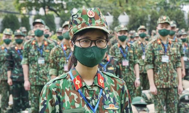 Die Armee engagiert sich für Pandemie-Bekämpfung in Südvietnam
