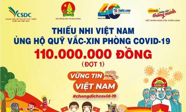 Malwettbewerb zum Spenden für Impfstoff-Fonds der Regierung