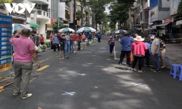 Ho-Chi-Minh-Stadt setzt Produktion und Geschäftsarbeit wieder in Gang