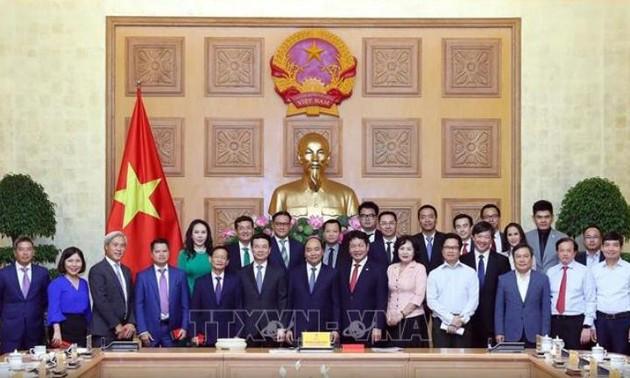 Nguyên Xuân Phuc: le secteur privé est une force motrice de la croissance nationale