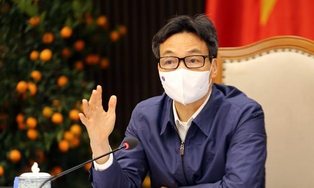 Covid-19: Vu Duc Dam travaille avec les autorités de Hô Chi Minh-ville