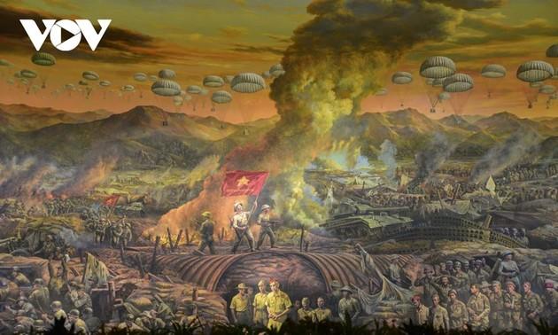 67e anniversaire de la victoire de Diên Biên Phu: une fresque panoramique de 3200m2