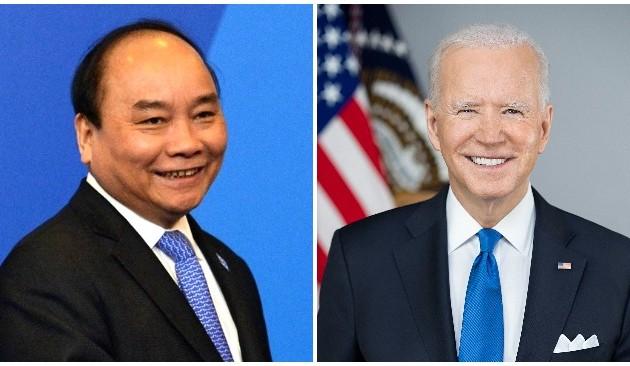 Nguyên Xuân Phuc adresse une lettre à Joe Biden