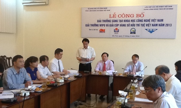 Tôn vinh các công trình Sáng tạo Khoa học Công nghệ Việt Nam
