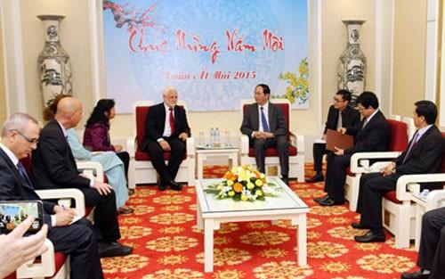 Bộ trưởng Trần Đại Quang tiếp Tổng Giám đốc Bộ Quốc phòng Israel Dan Harel