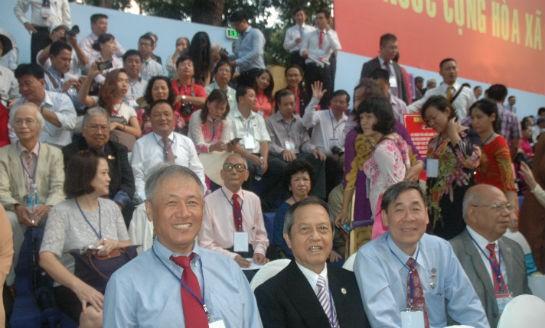 Lễ mít tinh, diễu binh, diễu hành kỷ niệm 40 năm Ngày giải phóng miền Nam, thống nhất đất nước