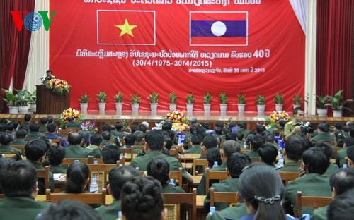 Chiến thắng 30/4 tạo cảm hứng to lớn cho nhân dân Lào